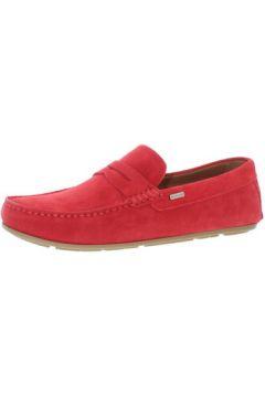 Chaussures Tommy Hilfiger Mocassins ref_tom45551 Rouge(115558477)
