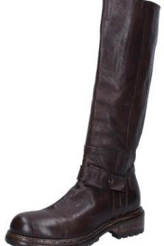 Bottes Moma bottes marron cuir BY929(115405768)
