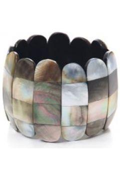 Armband Amani elastisch mit Muschel Collezione Alessandro khaki(111499808)