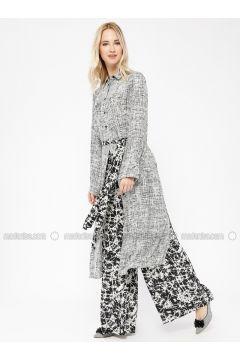 Black - White - Multi - Pants - Minimal Moda(110331190)