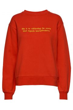 Bulky Crew Sweat-shirt Pullover Rot HAN KJØBENHAVN(114153072)