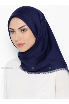 Navy Blue - Plain - Scarf - Bonjela(110339943)