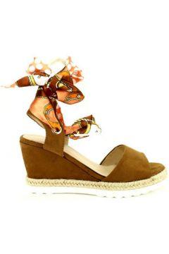 Espadrilles Cendriyon Compensées Caramel Chaussures Femme(115425666)