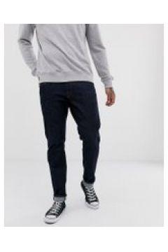Selected Homme - Gerade geschnittene Jeans aus Bio-Baumwolle in dunkler Rinse-Waschung - Blau(95032969)