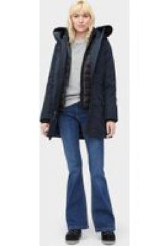 UGG Adirondack Parka pour Femmes en Navy Blue, taille Grande | Polyester(112238348)