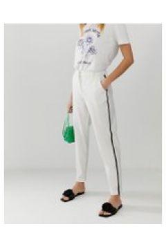 b.Young - Sportliche Jeans mit Zierstreifen - Weiß(89510857)