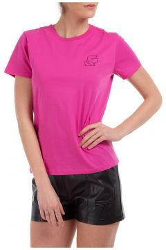 Women's t-shirt short sleeve crew neck round kameo(116936967)