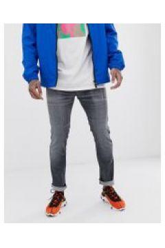 HUGO 734 - Jeans stretch skinny grigi - Grigio(92970027)