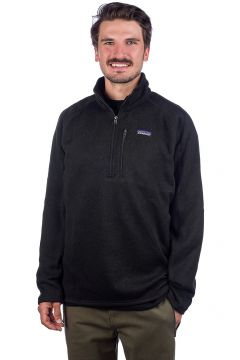 Patagonia Better Sweater 1/4 Zip Fleece Pullover zwart(95395749)