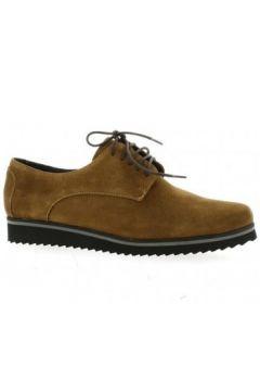 Boots Elizabeth Stuart Derby cuir velours(115612371)