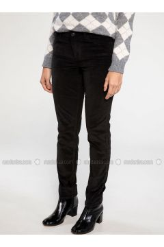 Black - Pants - DeFacto(110327651)