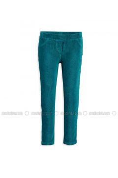 Turquoise - Legging - LC WAIKIKI(110343451)