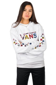 Vans Wyld Tangle Crop Hoodie wit(108030484)