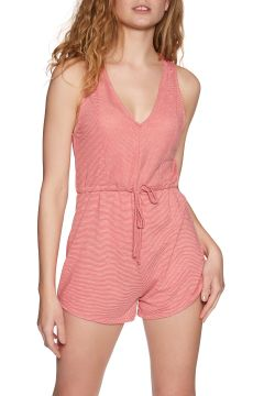 RVCA Righteous Romper Damen Playsuit - Pompei Red(110374262)
