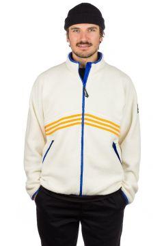 adidas Snowboarding Sherpa Full Zip Fleece Jacket cwhite/corang/hirblu(97851343)