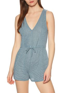 Playsuit Femme RVCA Righteous Romper - Storm(111333213)