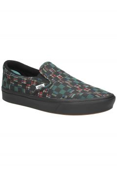 Vans Plaid Check UA ComfyCush Slip-Ons groen(107451851)