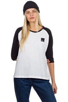 Blue Tomato BT Authentic Raglan Long Sleeve T-Shirt wit(85177837)