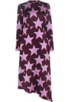 HUGO Komerla Dress - Burgundy/Pink(111095111)