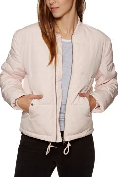 SWELL Highbury Light Quilted Bomber Damen Jacke - Blush(100257631)