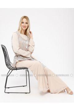 Beige - Pants - Minimal Moda(110331191)