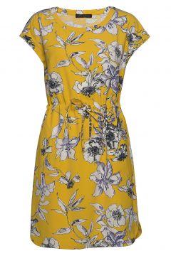 Dress Short 1/2 Sleeve Kurzes Kleid Gelb BETTY BARCLAY(114164654)