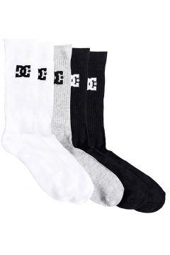 DC Spp Crew 3Pk Socks patroon(109250148)