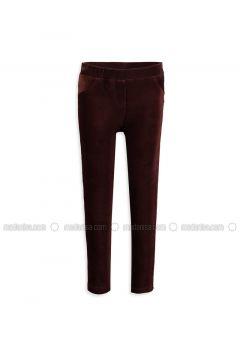 Brown - Legging - LC WAIKIKI(110343452)