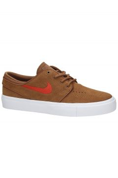 Nike SB Stefan Janoski Suede Skate Shoes bruin(96735578)