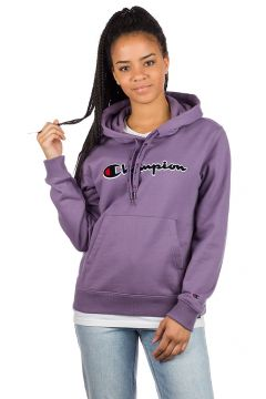 Champion American Logo Sweater Hoodie paars(94157979)