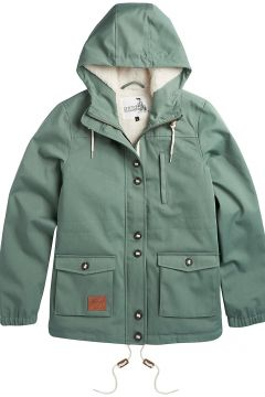 Animal Shortayed Parka groen(100661494)