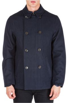 Men's double breasted coat overcoat(116914518)