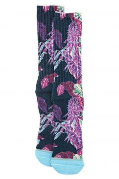 Fashion Socks Huf Digital Paraiso - Navy Blazer(115690462)