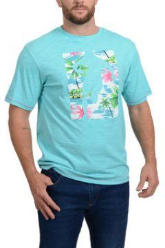 T-shirt Ruckfield T-shirt Chabal Island Bleu Turquoise(98704921)