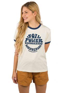 Patagonia Road To Regenerative Ringer T-Shirt wit(115688732)