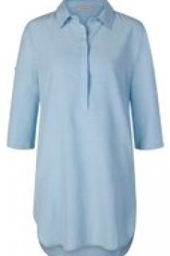 Blusenhemd in lässiger Longform mit Leinen Codello jeans blue(111527621)