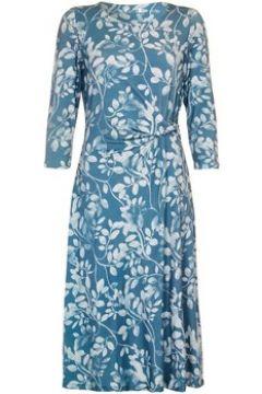 Robe Anastasia -Green Draped Lined Jersey Dress(101544124)