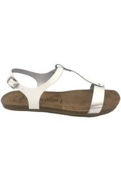 Sandales Amoa sandales SANARY Blanc/Argent(101587471)