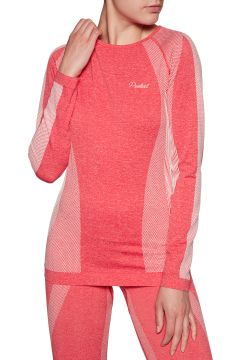Top Seconde Peau Femme Protest Stacie Thermo - Fluor Pink(111326021)