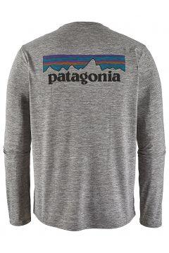 Patagonia Cap Cool Daily Graphic Longsleeve Lycra grijs(104307301)
