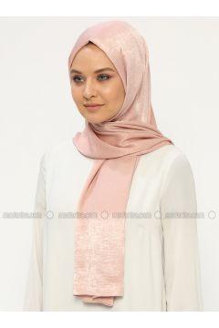 Pink - Plain - Shawl - Silk Home(110314464)