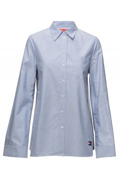 Bandana Shirt Ls Langärmliges Hemd Blau HILFIGER COLLECTION(114150569)