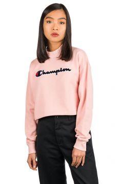 Champion American Logo High Neck Sweater roze(96894402)
