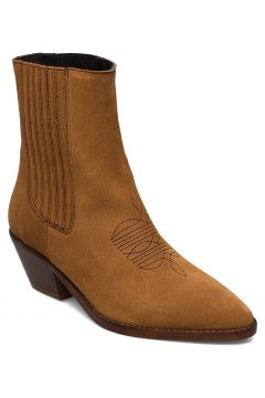 Tyler Elastic Suede Shoes Boots Ankle Boots Ankle Boots With Heel Braun ZADIG & VOLTAIRE(109243220)