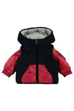 Zweifarbiger Mantel mit Kapuze Kasper(113871922)