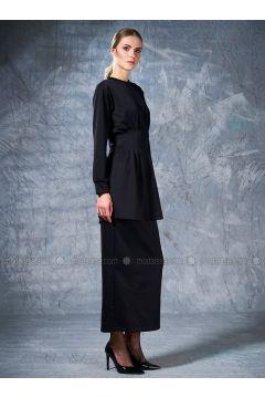 Crew neck - Black - Sweat-shirt - Eda Atalay(110331504)