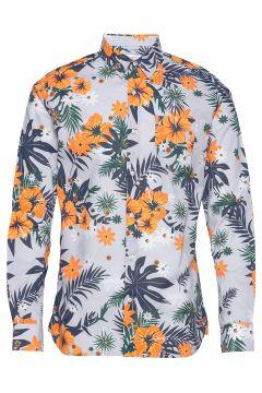 Elder Ls Flower Shirt - Gots/Vegan Hemd Casual Bunt/gemustert KNOWLEDGE COTTON APPAREL(114153904)