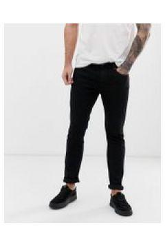 HUGO 734 - Skinny-Jeans in Schwarz - Schwarz(95023654)