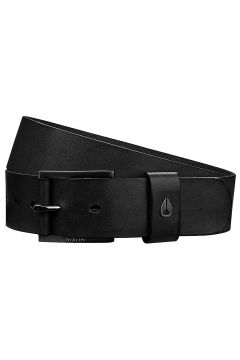 Nixon Americana Leather Belt zwart(95390523)