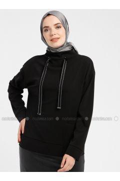 Black - Sweat-shirt - Armine(110337243)